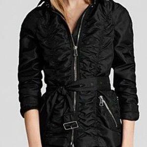 Authentic Burberry London black Raincoat size 4